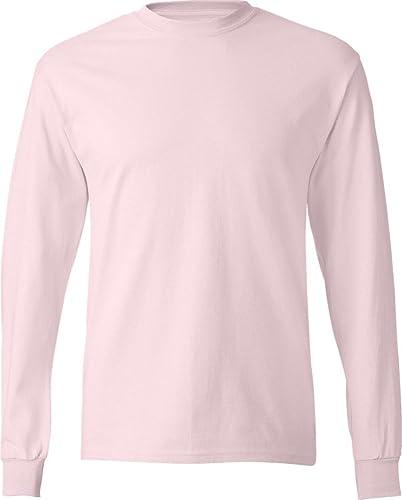 Hanes - T-Shirt à hommeches longues -  Homme
