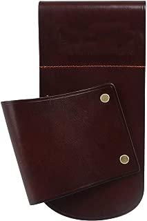 TOURBON Vintage Brown Leather Hip Scabbard Waist Belt Holster for Shotgun Rifle