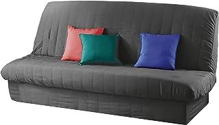 douceur d'intérieur Essentiel Housse de Clic Clac Mat. 120 à 140 cm - 185 à 200 cm Polye. Uni Essentiel Polyester, Beton, ...
