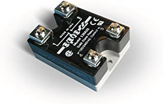 Opto 22 120A25 AC Control Solid State Relay, 120 VAC, 25 Amp, 4000 V Optical Isolation, 1/2 Cycle Maximum Turn-On/Off Time, 25 - 65 Hz Operating Frequency