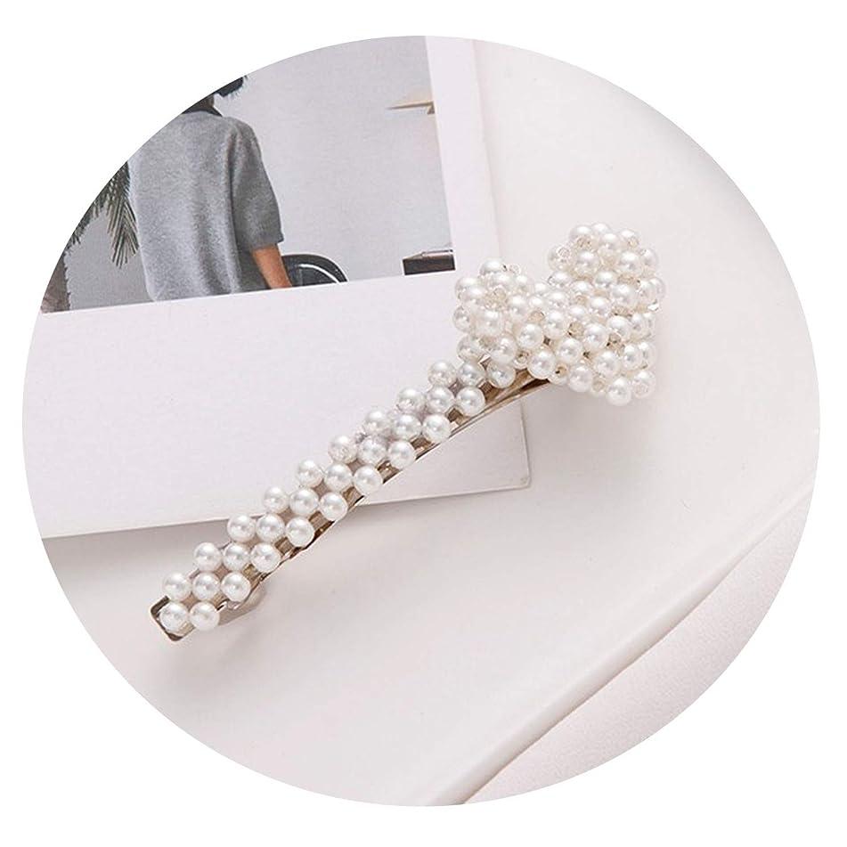 New Elegant Geometric Rhinestone Pearl Alloy Hairpin For Women And Girls Hair Clips Headband Headwear Barrettes Hair Accessories,18