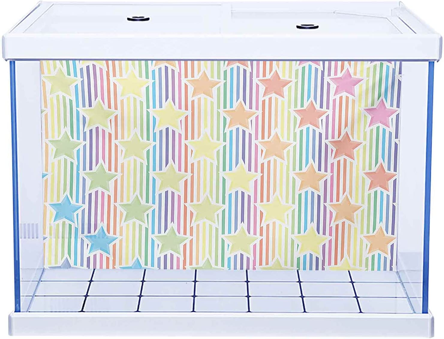 HD Aquarium outlet shipfree Background Star Multicolored Shap in Different Stars