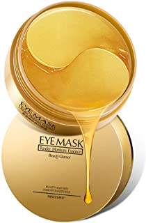 Best Under Eye Collagen Patch, 24K Gold Anti-Aging Mask, Pads for Puffy Eyes & Bags, Dark Circles and Wrinkles, with Hyaluronic Acid, Hydrogel, Deep Moisturizing Improves elasticity, 30 Pairs Review
