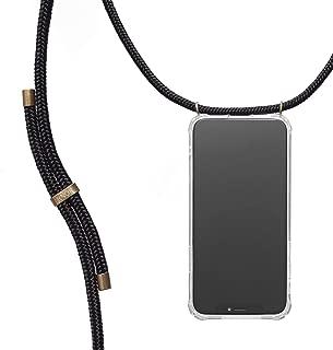 Arc en Ciel Silicone Coque avec Cou Cha/îne Collier /étui de t/él/éphone pour Huawei P30 Cou Lani/ère en Corde Verco Coque pour Huawei P30