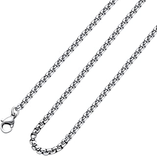 2MM 3MM 4MNM 5MM Square Rolo Chain Stainless Steel Round...