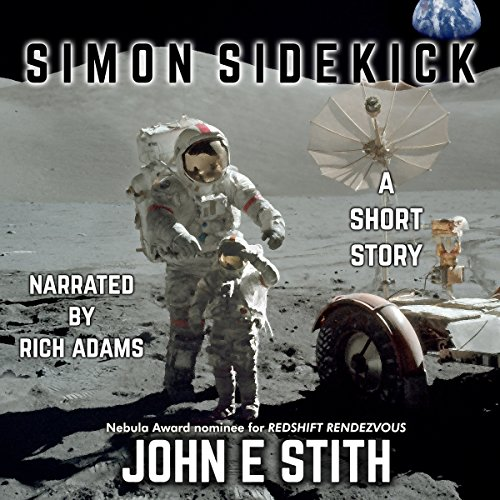 Simon Sidekick audiobook cover art