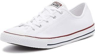 حذاء Chuck Taylor All Star Dainty نسائي خفيف أبيض/أحمر