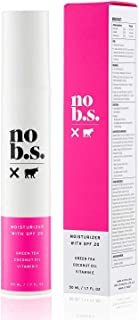 No B.S. Face Moisturizer With SPF 20. No Hype. No Fads. Daily Anti-Wrinkle Face Cream.