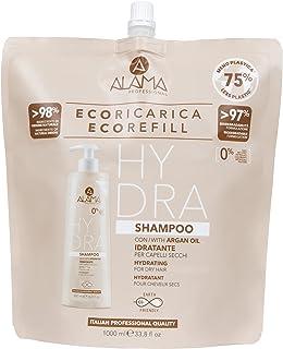 Alama professional Eco Refill Hydra Shampoo Idratante Per Capeli Secchi, Marroncino