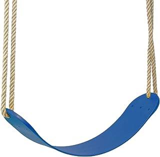 Asiento Columpio Infantil, plástico Flexible, Azul, Exterio