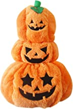 Halloween Pet Dog Clothes Thick Three-dimensional Playful Pumpkin Turned Into Teddy Dog Clothes Winter Clothes,S
