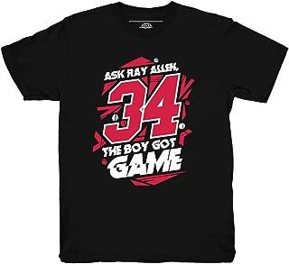 He Got Game 13 Ray Allen Shirt to Match Jordan 13 He Got Game Sneakers
