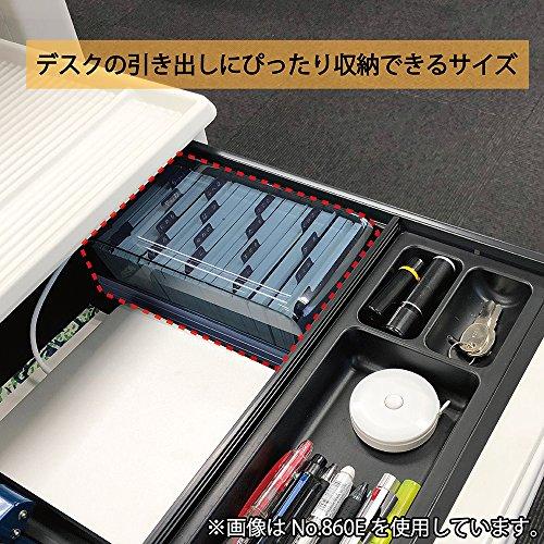 カール事務器名刺整理箱800枚ブルーNo.870E-B