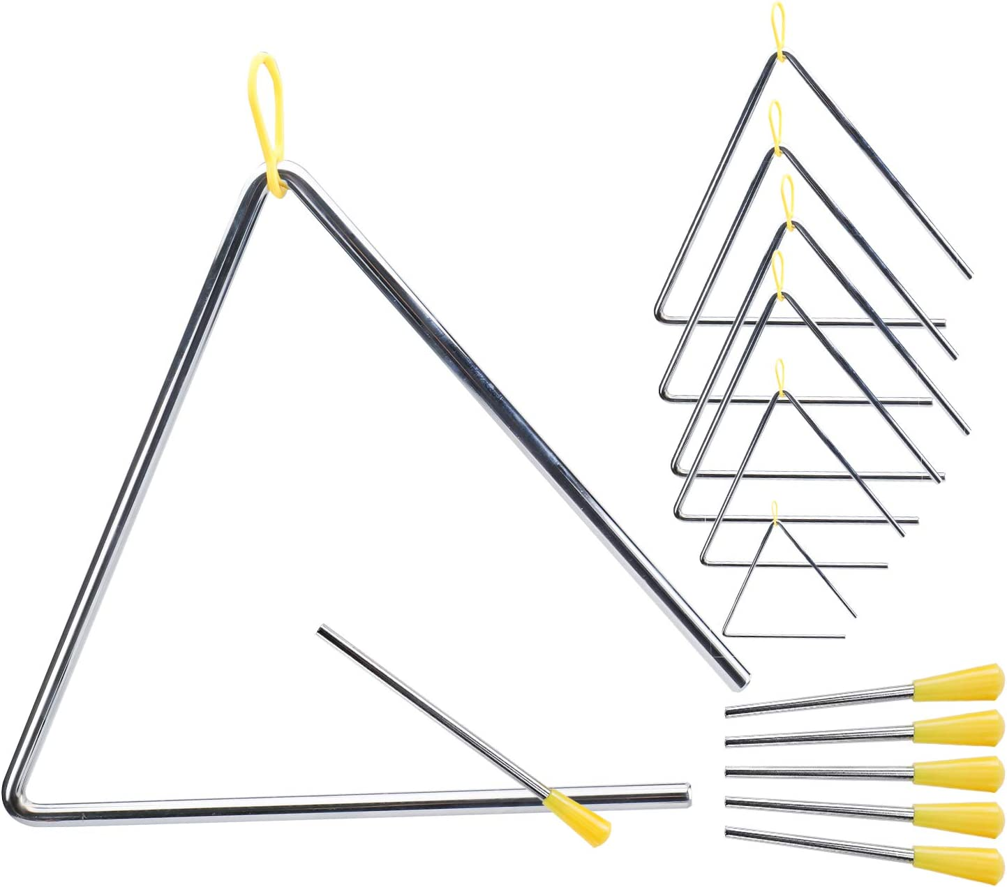Patioer Our shop most popular 6 Pack Triangle Instrument Set 4
