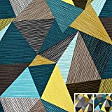 MAGAM-Stoffe Helsinki Dreiecke Muster Kinder Baumwollstoff