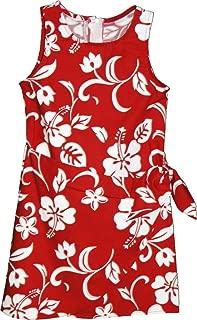 Brand Hibiscus Pareo Girl's Hawaiian Sarong Dress
