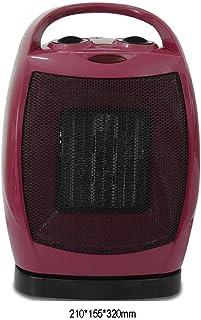 Inicio del ventilador eléctrico, calentador de ventilador de cerámica con termostato, mini ventilador Calentadores de casa de baja energía, calentadores eléctricos for el hogar ventilador, calefactor