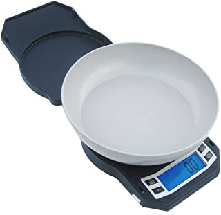 Precision Digital Kitchen Weight Scale, Food Measuring Scale, 3kg x 0.1g (Black), LB-3000