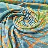 Textile Station Crepe De Chine Banarasi Brokat-Stoff,