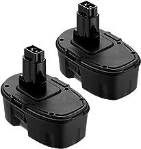 Replace for Dewalt 18V XRP Battery DC9096 DC9099 DC9098 DW9099 DW9098 Compatible Replacement Cordless Power Tools 3600mAh Batteries (2-Packs)