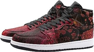 Schmitz Unisex High Top Sneaker Men Women Lace Up Shoes for Casual, Running