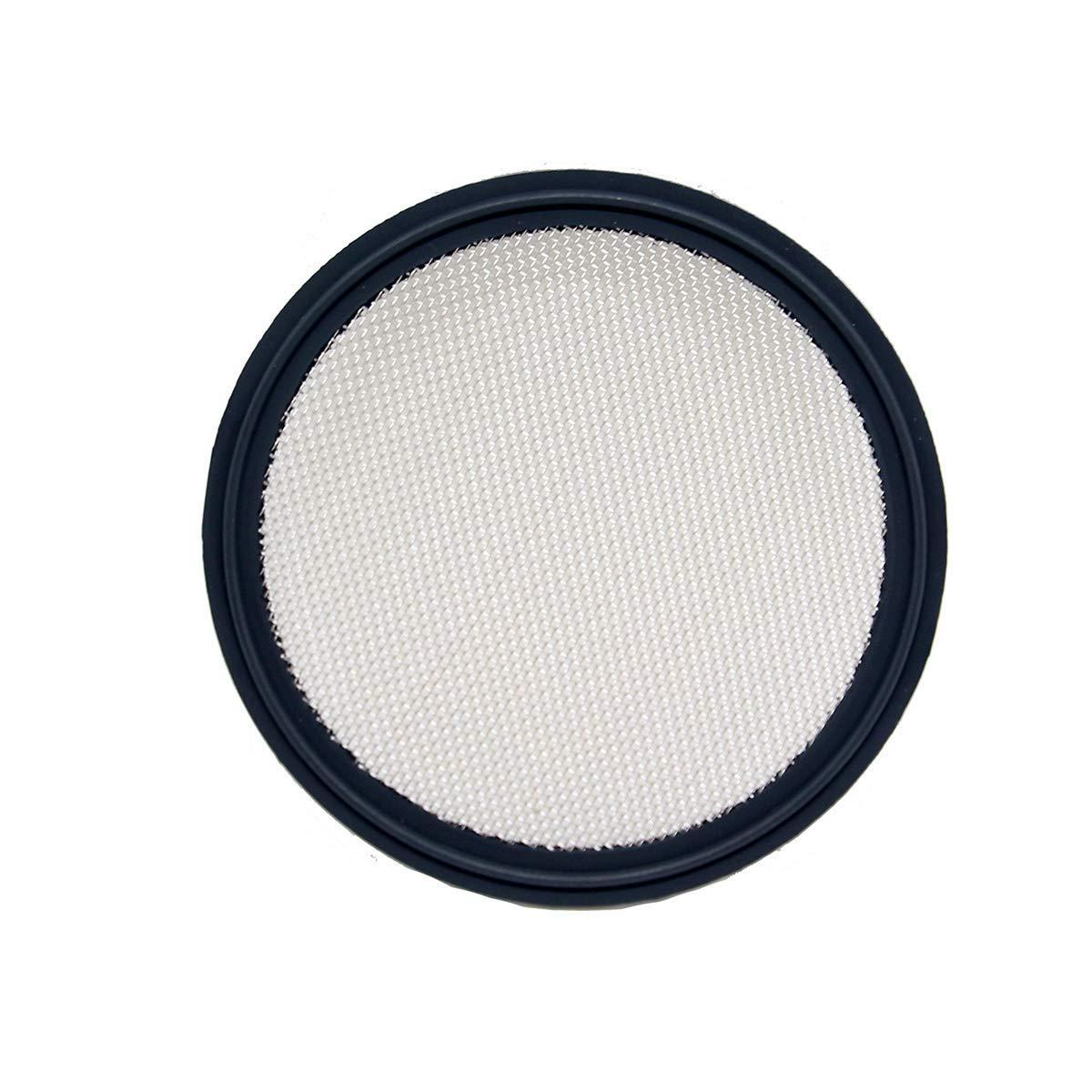 QiiMii 4 Tri-clamp Viton Sanitary Gasket with Stainless Screen 10 Mesh