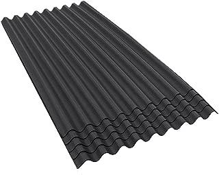 ONDURA 906 Corrugated Asphalt Roofing (5-Pack), Black