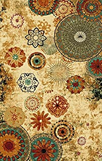Furnish my Place 770 Floral Abstract 5X8 Area Rugs