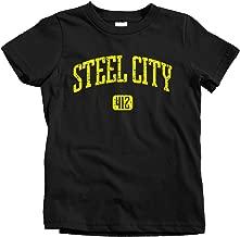 Smash Transit Kids Steel City 412 Pittsburgh T-Shirt