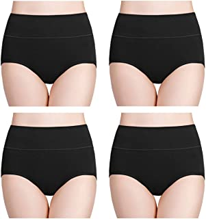 wirarpa Women's Cotton Underwear High Waist Full Coverage...
