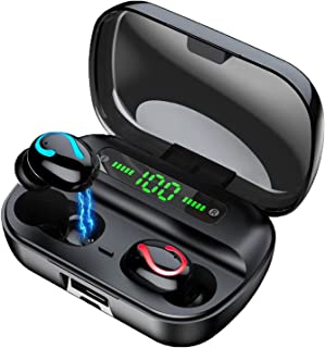 $32 » Sponsored Ad - Wireless Earbuds Wireless Bluetooth Headphones with Microphone Waterproof Bluetooth Earphones Clear Call in...