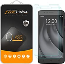 (2 Pack) Supershieldz for T-Mobile (Revvl Plus) Tempered Glass Screen Protector, Anti Scratch, Bubble Free