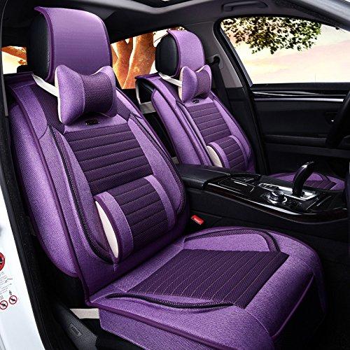 AMYMGLL De haute qualité Coussin Général Car Cover Linge Deluxe (10set) Édition Cinq Cushion Général Car Cover Four Seasons Universal 3 couleurs Sélection , #30