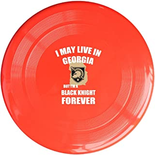 EVALY Army West Point Georgia Black Knight 150 Gram Ultimate Sport Disc Frisbee Yellow
