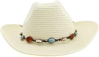 LiWen Zheng 2019 Western Cowboy Hat Women Outdoor Beach Hat Colorful Stone Decoration Youth Sun Hat