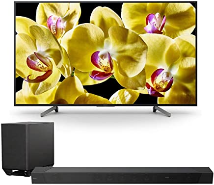 """$2048 Get Sony XBR-55X800G 55"""" 4K HDR Ultra HD Smart TV with HT-ST5000 7.1.2ch 800W Dolby Atmos Sound Bar"""