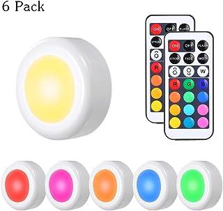 2 estantes Luces LED en Base /& Top Triple 9 69927K 69927W Vitrina Transparente