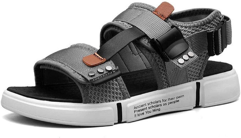 STTXTM Beach Slippers Mens Summer shoes Comfortable Beach Sandals Men Light Casual Flat Men shoes