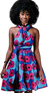 c84c0cb992e Femmes Robe Africaine Style Ethnique Multi Wear Robe De Tailles  Confortables Soirée Vintage Robes Courtes Multiway
