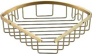 Étagère d'angle Douche Forage for douche d'angle Etagère Salle de bains étagère en acier inoxydable Support de rangement S...