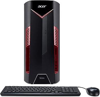 Acer Nitro 50 Gaming Desktop (Hex Core i5-8400 / 12GB / 256GB SSD)