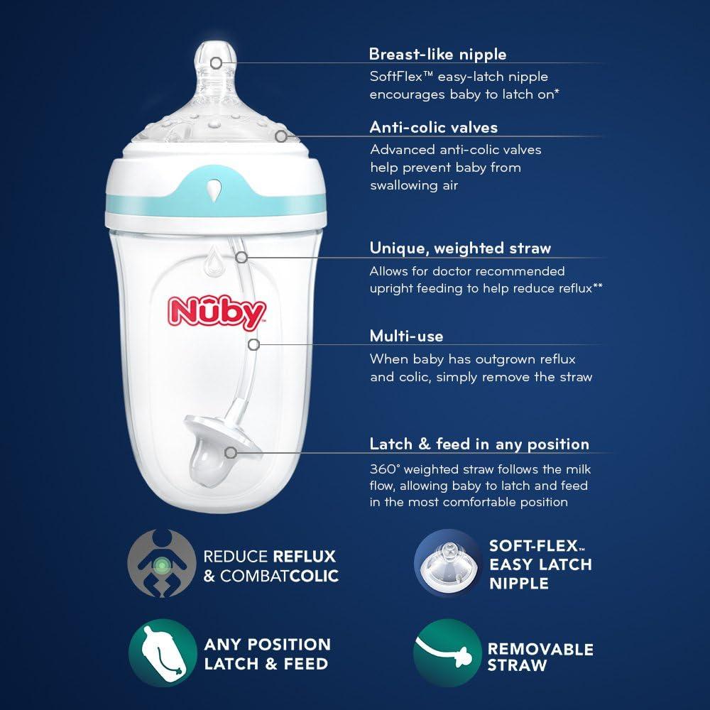 5 Ounce Nuby Comfort 360 Bottle