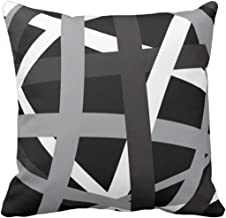 Amazon.com: black and gray throw pillows