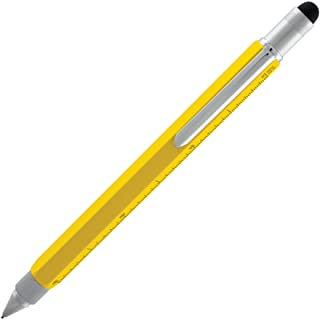 Monteverde USA One Touch Tool Stylus, 0.9mm Pencil, Yellow (MV35242)