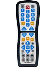 Best Luckystar 2 Device Universal Waterproof Easy Clean Remote Control Support for All Smart TV, LED/LCD TV, Apple TV,Vizio TV, LG, Samsung and Roku Player, BluRay DVD, Audio System Review