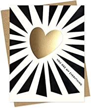 product image for Everything Heart Foil-Stamped Love Card by Night Owl Paper Goods