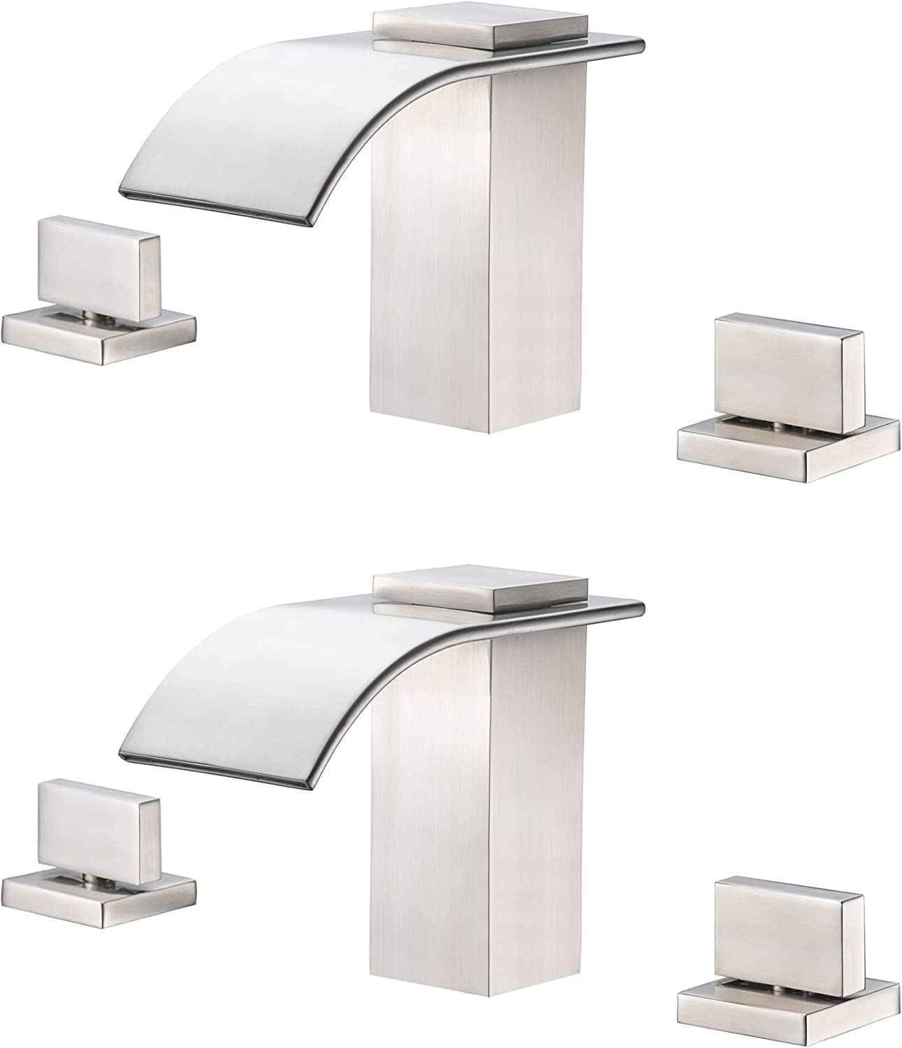 Widespread Bathroom Faucet Now Max 81% OFF free shipping S1408NW + S2143NW Bu Roman Tub