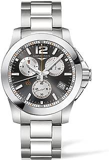 [ロンジン] 腕時計 コンクエスト クロノグラフ クオーツ L3.700.4.79.6 メンズ 正規輸入品