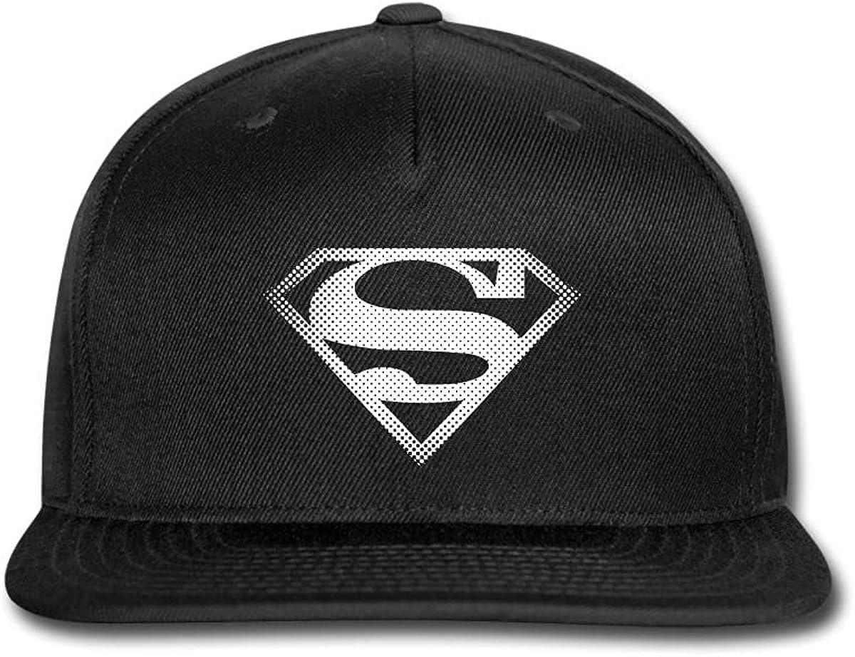 Spreadshirt DC Comics Originals Superman Dot Logo Snapback Cap