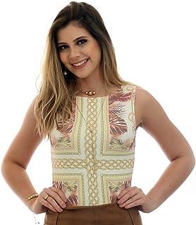 bf32d30e1f Moda - FICALINDA - Camisetas e Blusas   Roupas na Amazon.com.br